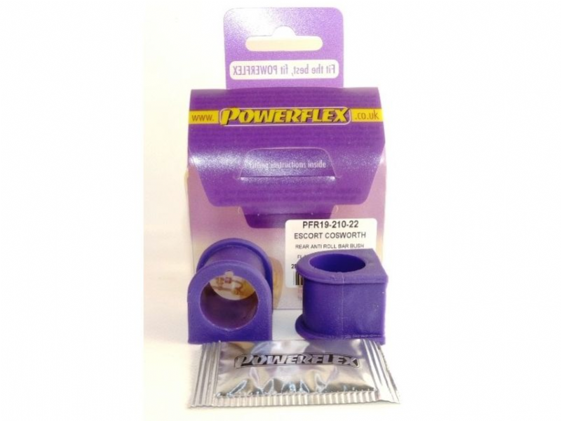 Powerflex Rear Anti Roll Bar Mount Bush 22mm ARB Both Sides n/s o/s Escort Cosworth PFR19-210-22